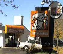 Little Caesars on Cedar St in Holt.