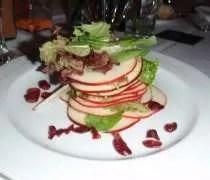 Js apple tower salad