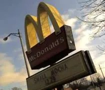 McDonalds on Grand River Avenue in East Lansing.