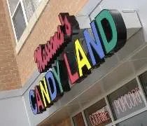 Messanas Candy Land on 183rd Street in Tinley Park