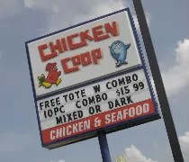The new Chicken Coop location on Fadel Street in Paw Paw