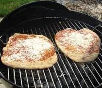 Grilling Pizza