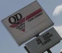 Quality Dairy on W. Saginaw Highway in Delta Township