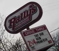 Rallys Hamburgers on Oakland Avenue in Lansing.