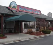 The Redwood Lodge just off of I-75 in Flint