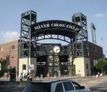 Silver Cross Field in downtown Joliet.