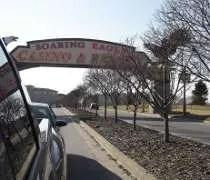 Leaving Soaring Eagle Casino and Resort in Mt. Pleasant