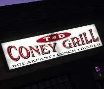 T & D Coney Grill on West Grand River Avenue in Okemos.