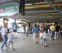 The concourse level at US Cellular Field in Chicago