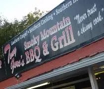 Tony Gores Smoky Mountain BBQ & Grill just outside of Sevierville, TN