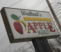 Westlunds Apple Market on Grand River Ave. in Lansing