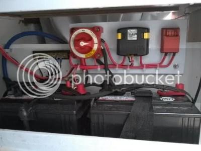 blue sea mini add a battery wiring diagram ford fiesta starter motor dual upgrade seas kit page 1 boat electrical fishyfish tolman alaskan skiff and building forums