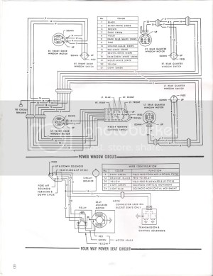 Power window wiring diagram, Anyone?  Chevelle Tech