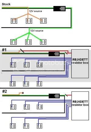 RB26 injectors to rb20: wiring diagram question  Nissan
