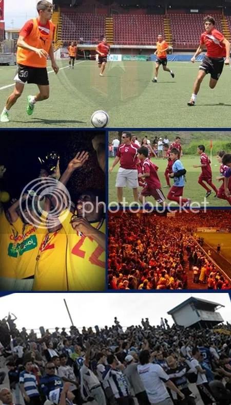 El fútbol de Costa Rica adormece