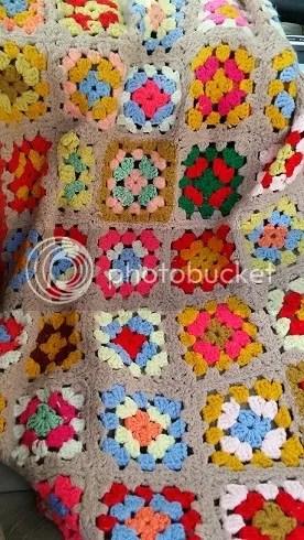 Crocheted Lapghan