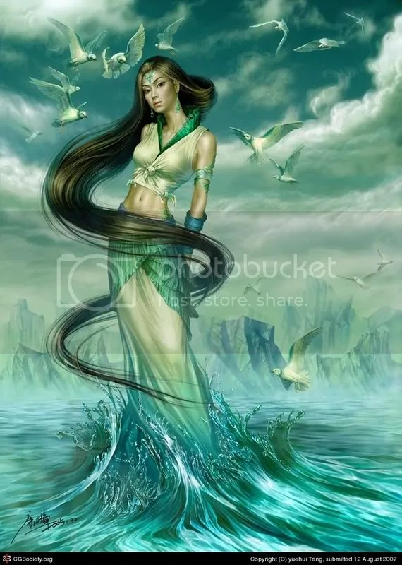 The Lady of water
