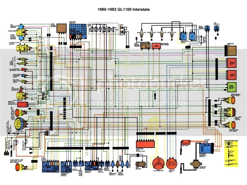 wiring diagram for trailer socket hunter 4 wire ceiling fan switch radiator wiring, gl1000 - steve saunders goldwing forums
