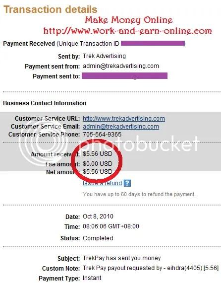 TrekPay Payment