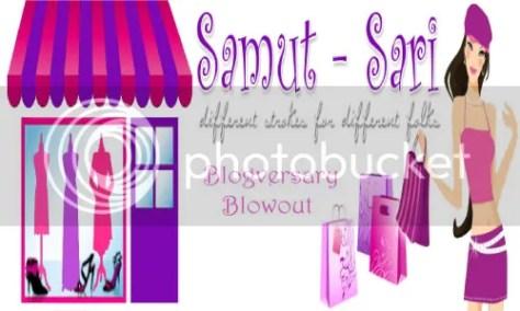 Samut-Sari's Blogversary Blowout
