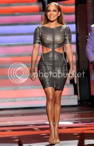 Jennifer Lopez's Hervé Léger Bandage Dress