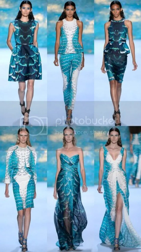 Monique Lhuillier Spring 2013 Collection