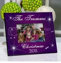 Personalized Holiday Picture Frames