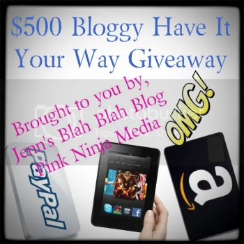 Have It Your Way $500 Giveaway