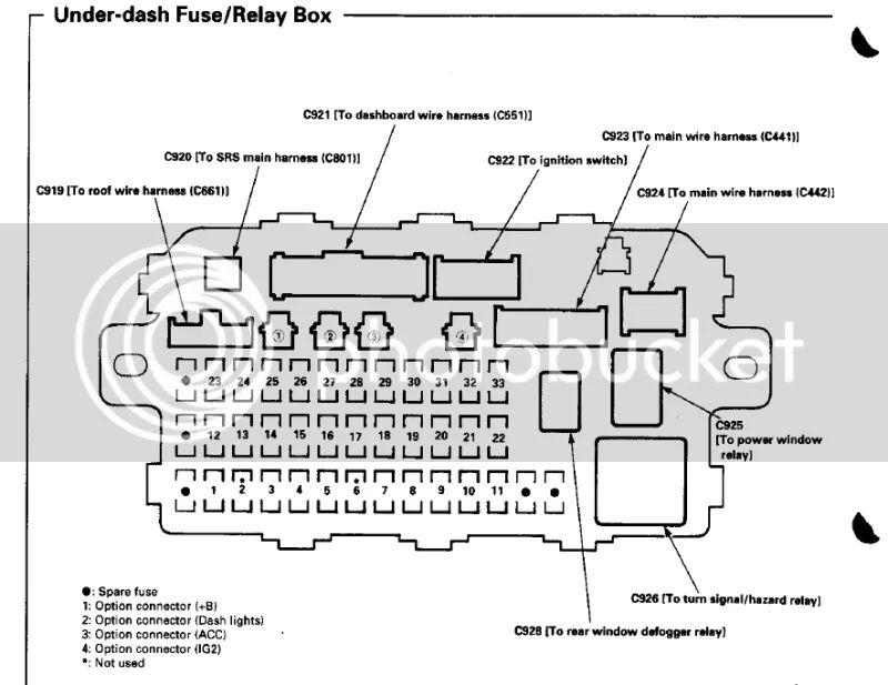 2000 integra fuse box diagram