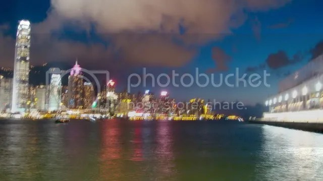 """Symphony of Lights"" along Victoria Harbor"
