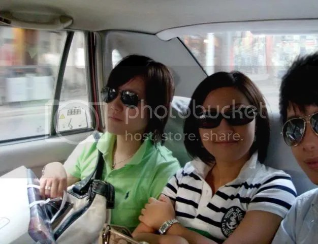 Aboard the Taxi