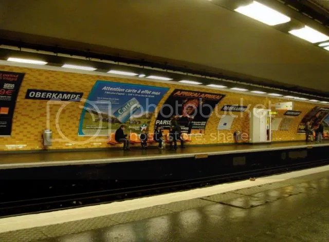 Oberkampf Subway Station