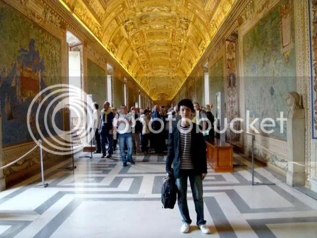 Jeremy C.K. Shih at Vatican Museums