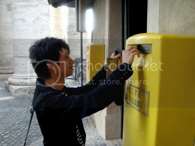 Vatican Post Office Mailbox