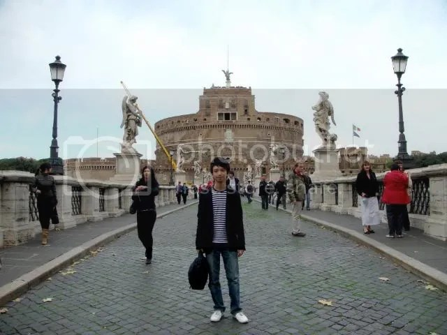 Jeremy C.K. Shih at Castle of Sant' Angelo