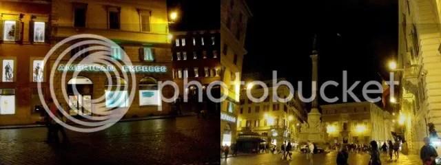 Spanish Piazza Vicinity, Rome