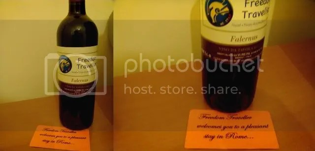 Hotel Freedom Traveler Wine