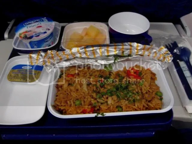 China Eastern to Shanghai (Dinner)