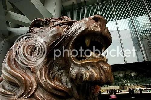 HSBC Lion - Steven of Hong Kong