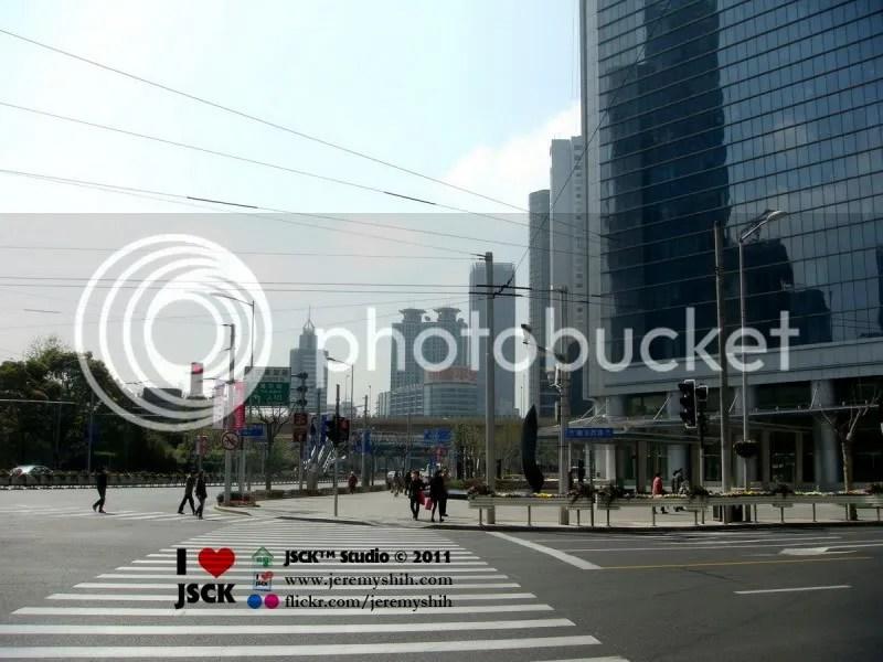 Nanking Street at Huashan Street