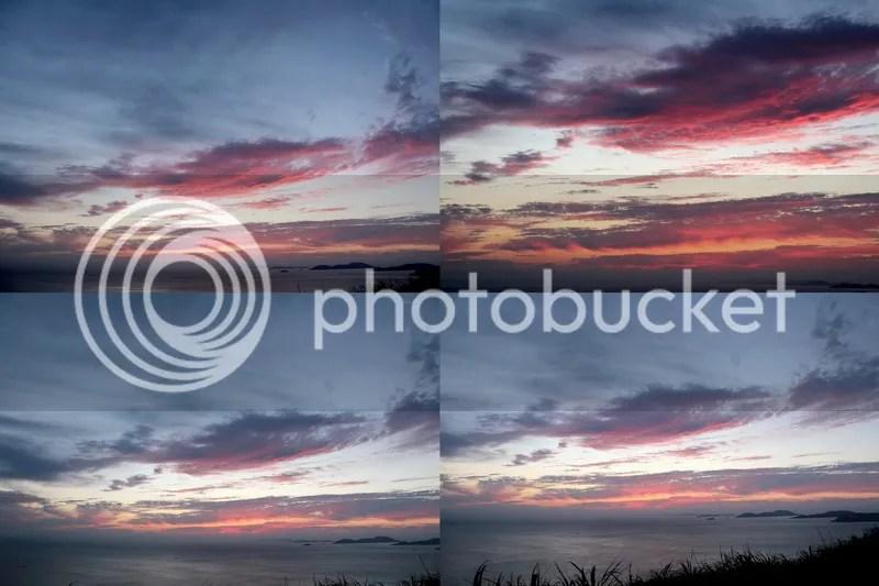 Sunset at Eternal Blessing Pavilion, East Blessing Hill Island