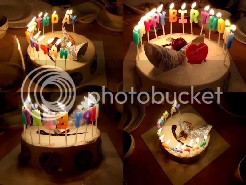 Birthday Cake at Le Patio, J.A., Shanghai
