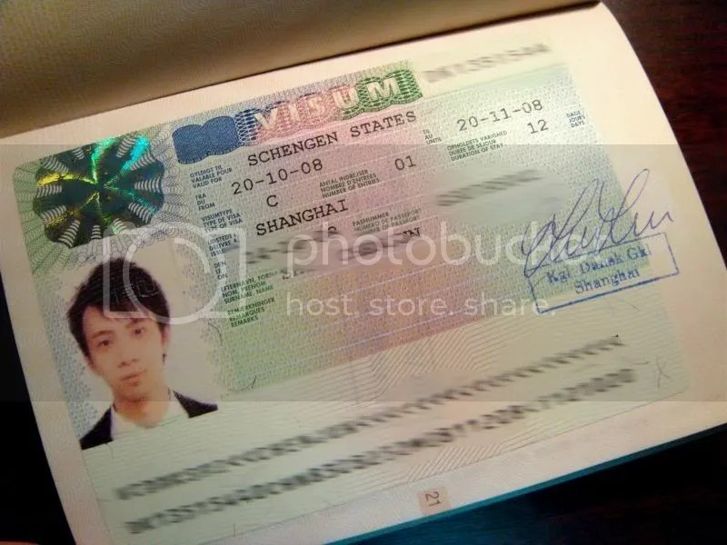 Passport - Schengen Visa