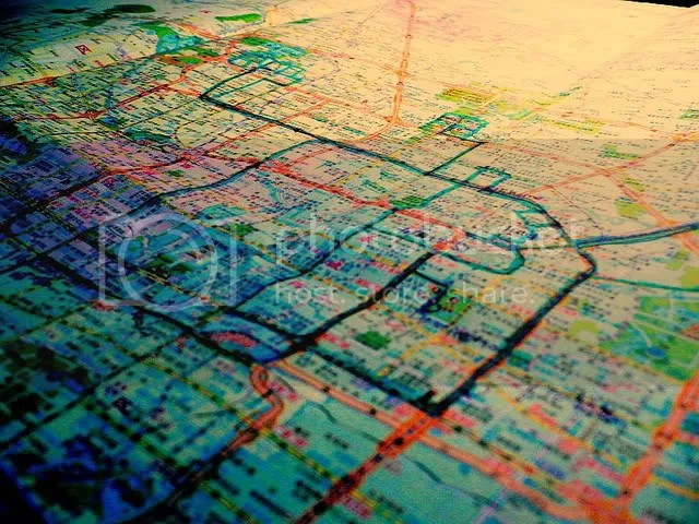 Printing of Peking - Road Map