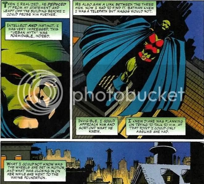 batman, martian manhunter, detective