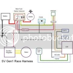 Sv650 Wiring Diagram Vw T4 Race For 1st Gen....again, But Different - Suzuki Forum: Sv650, Sv1000, Gladius Forums