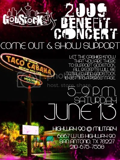 Taco Cabana Concert