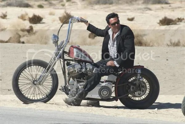 Michael Madsen is a biker in Hell Ride.