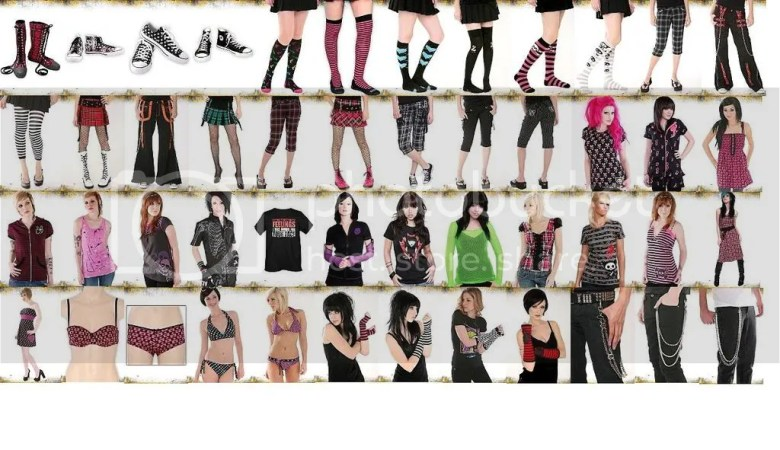 Emo Outfits ~ Make Hairstyles