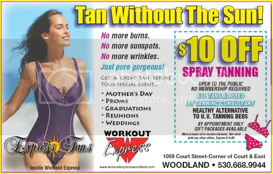spray tanning at home